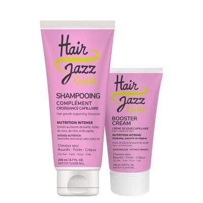 Shampoo e Crema HAIR JAZZ CURLS per modellare i ricci