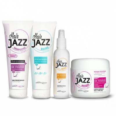 HAIR JAZZ - shampoo, balsamo all'acido ialuronico, lozione e maschera