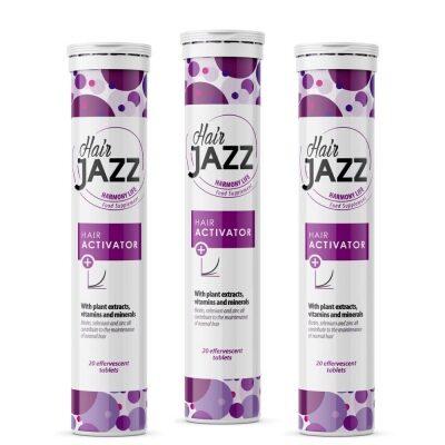 3 x Bubble vitamine per capelli HAIR JAZZ